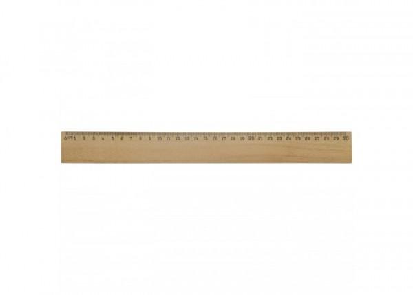 Houten liniaal 30cm