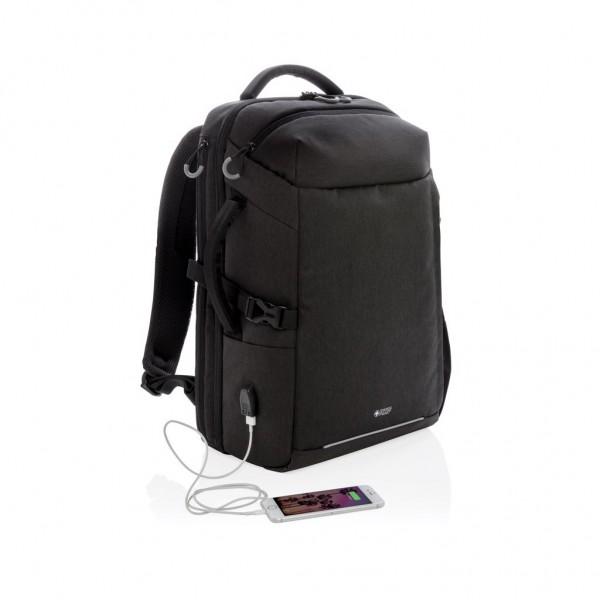 Swiss Peak XXL business & travel backpack met RFID en USB