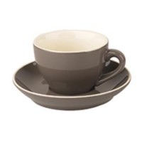 Robusta Cappuccino grijs 18 cl.SET