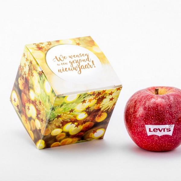 Full color geschenkverpakking incl. 1 appel