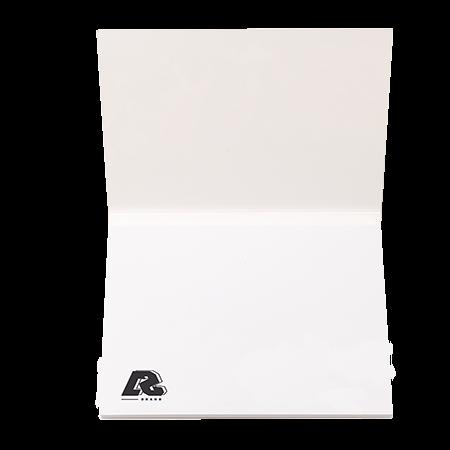Sticky notes in omslag 105x75 mm 50 vel
