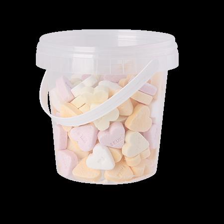 Emmertje 670 ml gevuld met snoep uit categorie BASIS full colour label