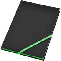 zwart, groen