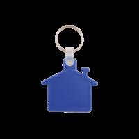 Kunststof sleutelhanger Huis