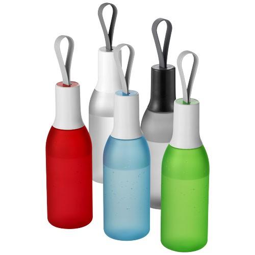 Flow 650 ml drinkfles met siliconen hengsel
