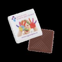 Chocolade 5 gr. Barry Callebaut offset full colour op wikkel