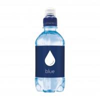 Bronwater 330 ml met sportdop blauw