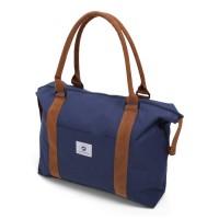 Vintage Beachbag Deluxe Blue & Brown
