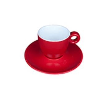 Bola Espresso rood-roomwit 8 cl. SET