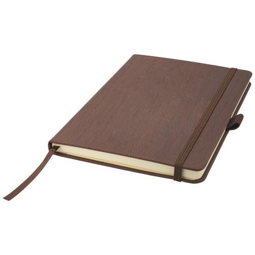 Wood-look A5 notitieboek met harde kaft