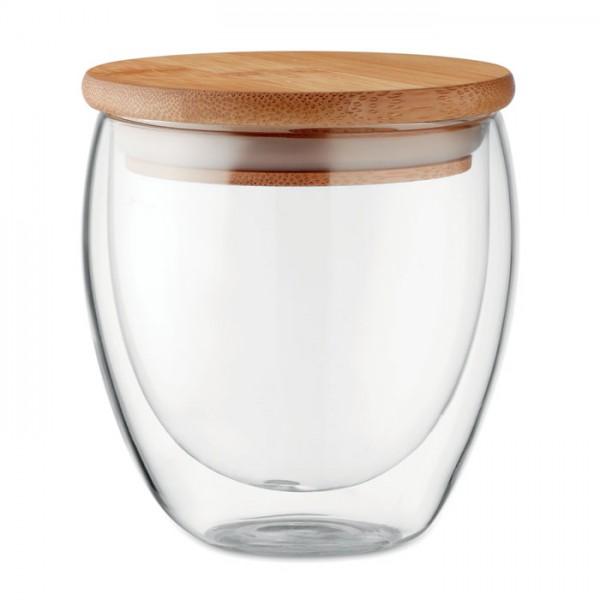 Dubbelwandig drinkglas 250ml