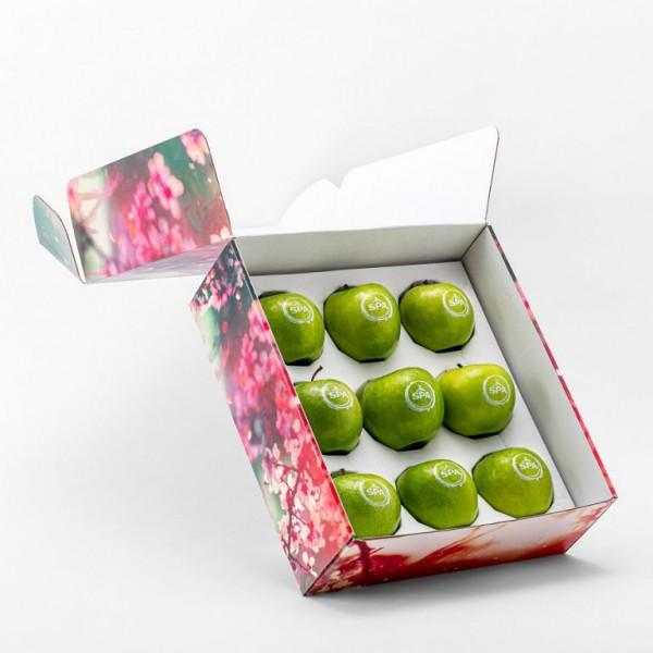 Full color geschenkverpakking incl. 9 appels