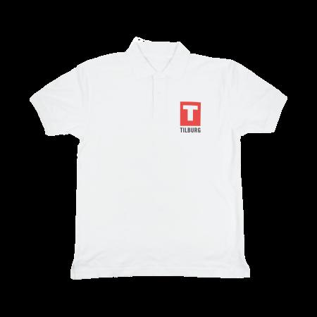 Poloshirt 180 gr/m2 wit - M