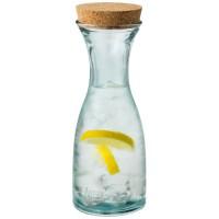 Zest karaf van gerecycled glas