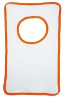 wit (white) / oranje