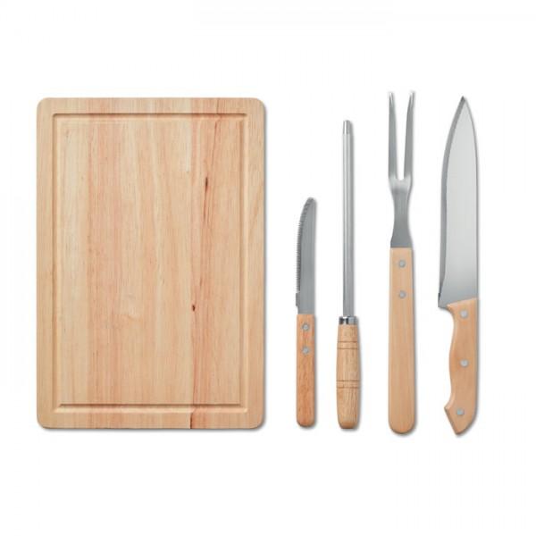 4-Delige BBQ accessoire set