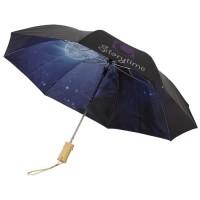 "Clear-night 21"" opvouwbare automatische paraplu"