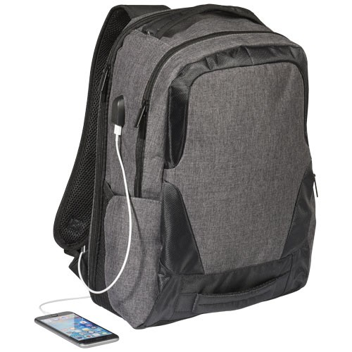 "Overland 17"" TSA laptop rugzak met USB poort"