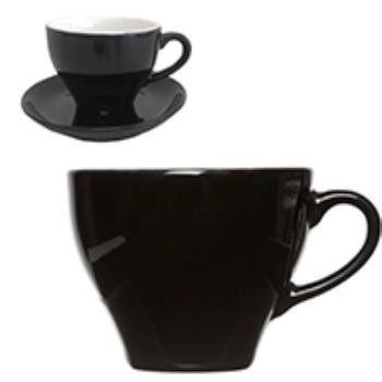 Barista Cappuccino Kop zwart 20 cl.