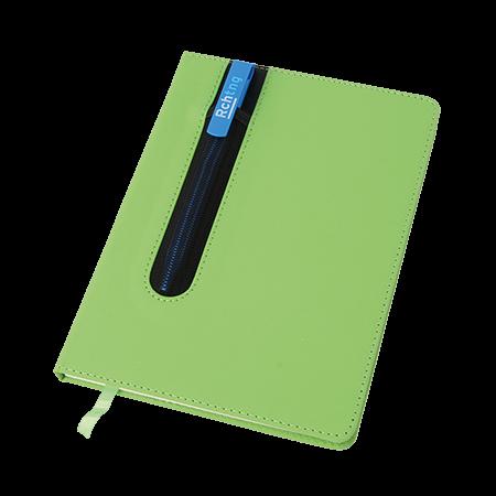Notitieboek A5 met houder voor 1 pen