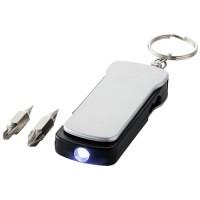 Maxx gereedschap sleutelhanger met 6 functies en LED-lampje