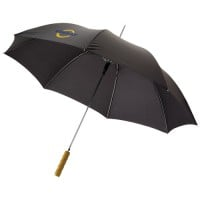 "Lisa 23"" auto open umbrella with wooden handle"