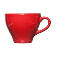Barista Cappuccino Kop rood 20 cl.