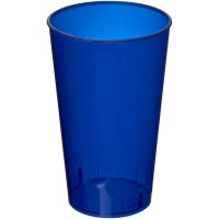 transparant donkerblauw