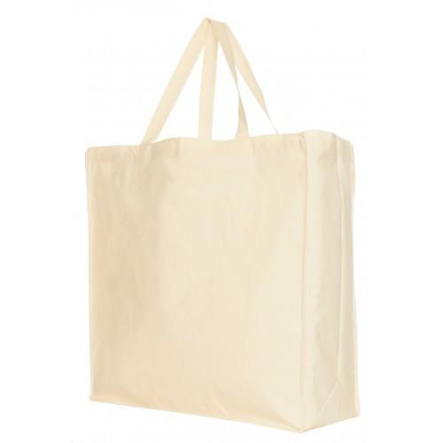 Winkeltas groot katoen 175 grams 45 x 47 x 18 cm