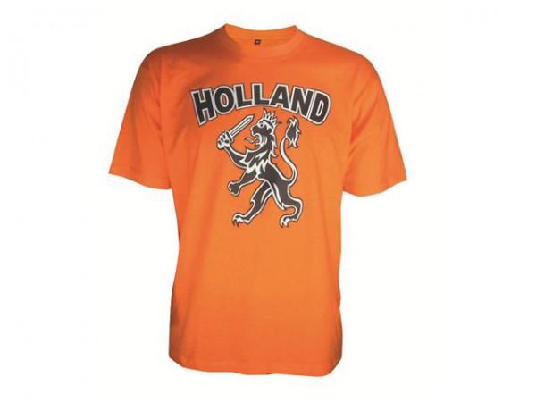 Oranje Kinder T-Shirt Met Print, Ronde Hals 104