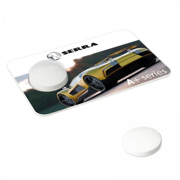 Creditcard met 1 compli'mint