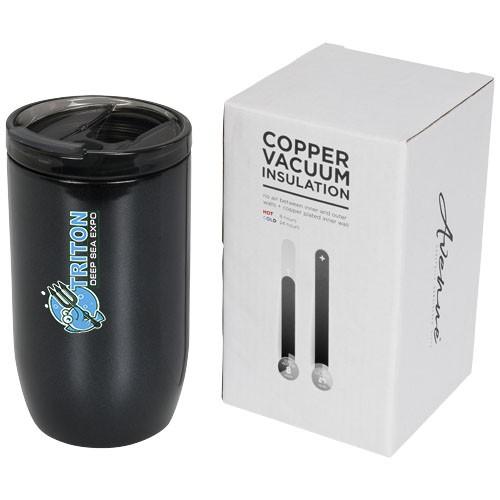 Lagom 380 ml koper vacuüm geïsoleerde drinkbeker