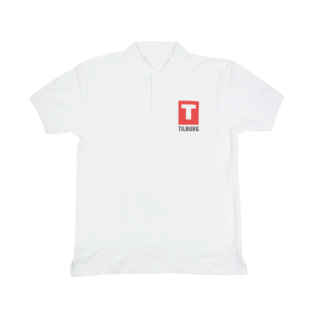 Poloshirt 180 gr/m2 wit - L