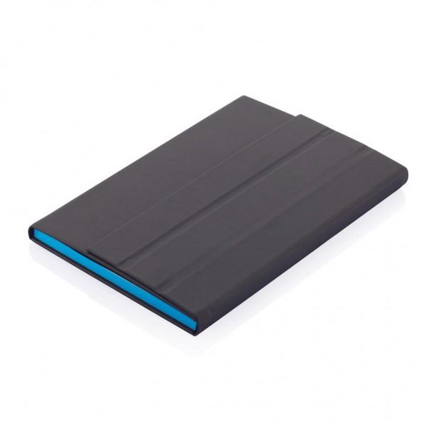 Deluxe A5 notitieboek met tabletstandaard