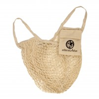 Meshbag nature met pouch