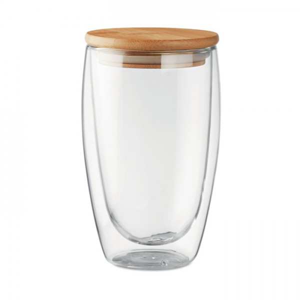 Dubbelwandig drinkglas 450ml