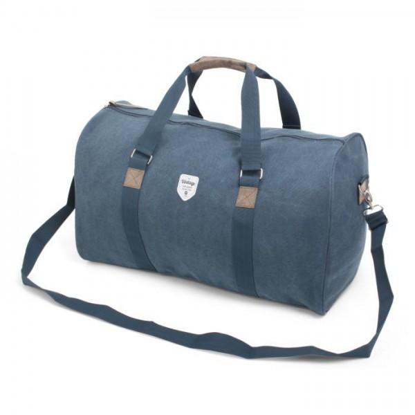 Vintage Canvas Weekendbag Blue