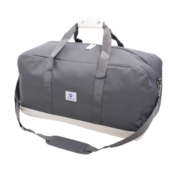 Vintage Weekendbag Grey & White