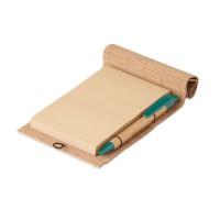 Bamboe notitieblok met pen 40