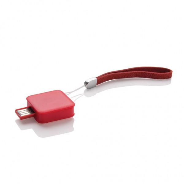 Vierkante USB stick - 8 GB