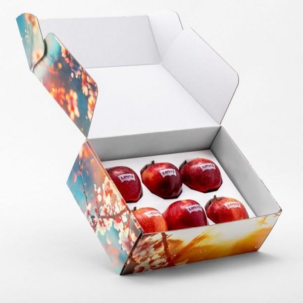 Full color geschenkverpakking incl. 6 appels
