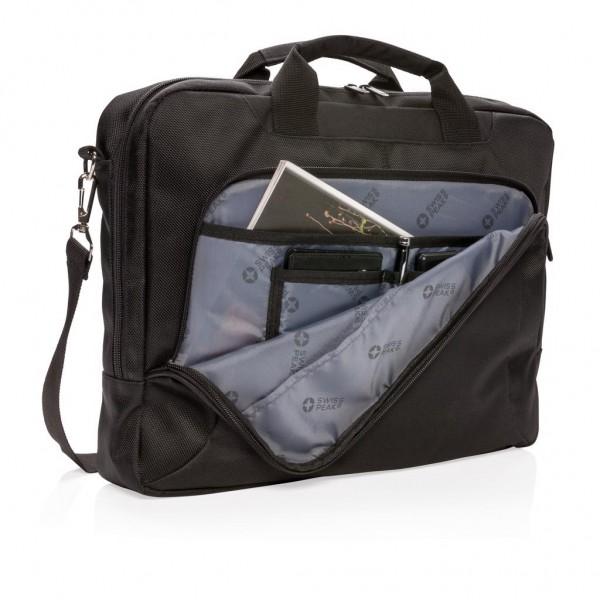 "Swiss Peak Deluxe 15"" laptop tas"