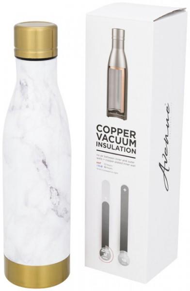 Vasa marmeren koper vacuüm geïsoleerde fles