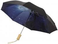 """21"""" 2 sectie opvouwbare automatische paraplu met heldere nacht"""