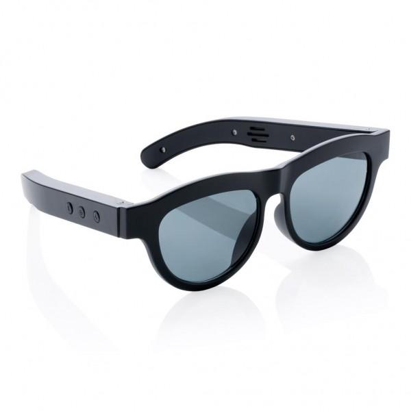 Draadloze speaker zonnebril, Standaard komt de bedrukking aan 1 zijde