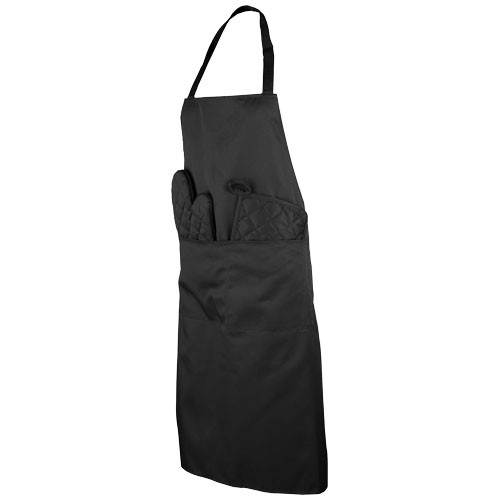 Dila 3 delige keukenset met schort en ovenwant