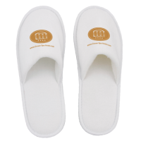 Paar slippers, dichte teen