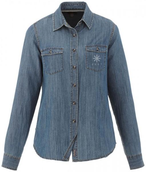 Sloan dames blouse met lange mouwen
