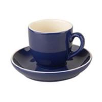 Robusta Koffie blauw 14 cl. SET