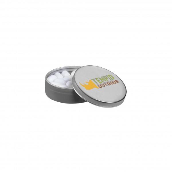 Zilveren blikje Tic-Tac
